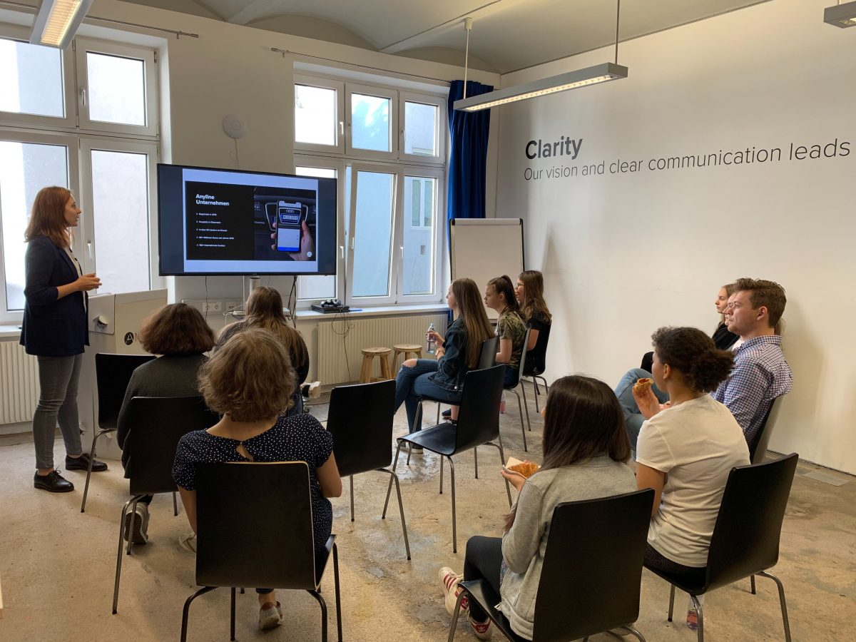 Daughter's Day Vienna 2019 at Anyline - Corporate Introduction