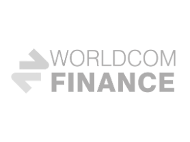 Worldcom Finance logo grey
